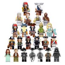 24pcs Pirates of the Caribbean Jack Captain Fit Lego Movie Toys Block - $38.99