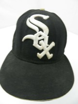 Chicago White Sox New Era Fitted 7 1/8 Adult Baseball Ball Cap Hat - $14.25