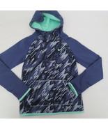 Nike Girls Therma Hoodie Sweatshirt - 903742 - Blue Purple 508 - Size S ... - $18.99