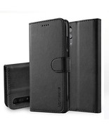 Newmag Huawei P20/P20 Pro/P20 Lite Case Leather Flip Case with Built-in ... - $13.11