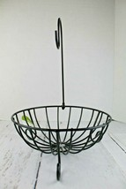 Fruit Basket Bowl with Removable Banana Tree Hanger Black Finish Unused New - $29.69