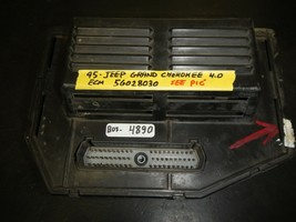 95 GRAND CHEROKEE 4.0-L ECM # 56028030 (BOX-4890)  SEE ALL PIC'.WORK GOOD - $59.35