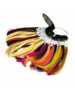 Lord & Cliff Hair Extensions 100% Human 51 Colors Ring Chart Solid Blends - $10.84