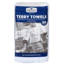 Member's Mark Terry Towels 60 pk NEW - $32.99