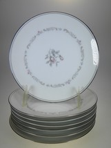 Noritake Mayfair Appetizer Or Hors d'oeuvres Plates Set of 7 - $21.46