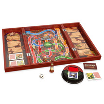 Christmas Game Jumanji: The Game in Real Wooden Box Toys Puzzles Board G... - $26.62