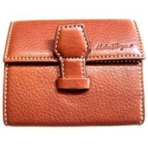 U-0912150 New Salvatore Ferragamo Coin Holder Wallet - $189.99