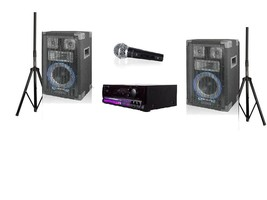 Technical Pro Soundblast-8BT 2000W System with DJ Speakers and Microphone image 1