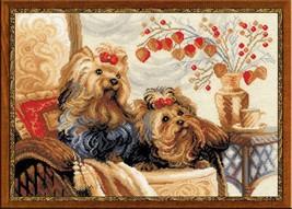 Cross Stitch Kit Riolis Pets - $37.00