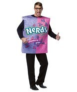 Nerds Costume Adult Tunic Men Food Candy Halloween Party Unique GC3986 - £38.00 GBP