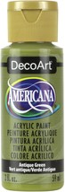 Americana Enid's Acrylic Paint 2oz-Antique Green - $7.73