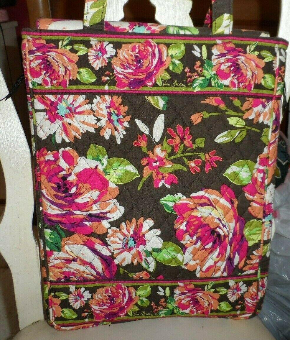 Vera Bradley laptop Travel Tote In English Rose image 2