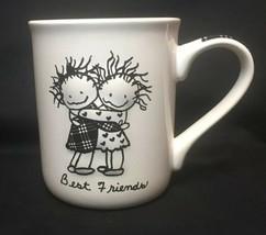Children Of The Inner Light by Enesco Best Friends Stoneware Coffee Mug 16 oz - $15.09