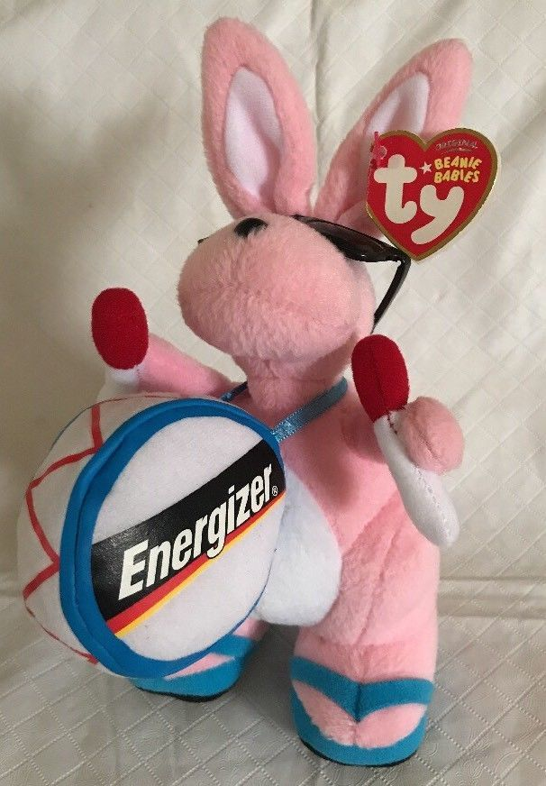 a93f2490284 S l1600. S l1600. Previous. Ty ENERGIZER BUNNY Walgreens Exclusive Beanie  Babies Plush MWMTs Pink Glasses
