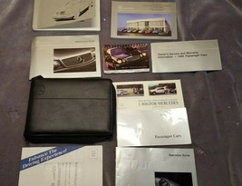 1999 Mercedes-Benz E-Class Owner's Manual & Case with Supplemental Docum... - $28.13
