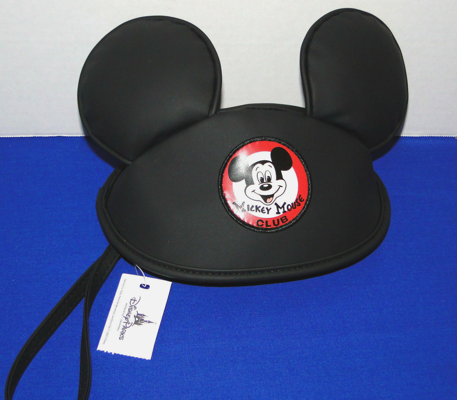 Disney Parks Mickey Mouse Club Hat with Ears Wristlet