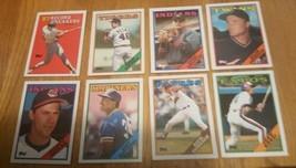 1988 Topps Baseball Cards  lot of 46 cards - $2.00