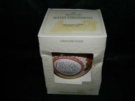 1981 Hallmark Keepsake Satin Grandmother Xmas Ornament - $14.85