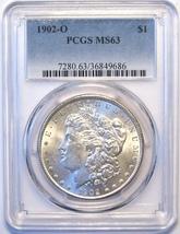 1902-O PCGS Morgan Silver Dollar. MS63. MG19. - $74.00