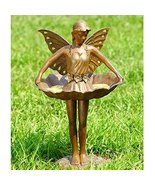 Beautiful Maiden Fairy Ballerina Bird Feeder Bath Magical Garden Decor A... - $204.94
