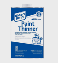 Klean Strip PAINT THINNER Mineral Spirit Cleaner 1 Quart QKPT94003 (NO C... - $17.99