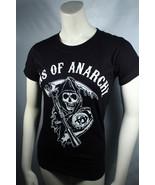 Soa Sons Of Anarchy Classico Reaper Logo Motociclista Adolescenti T Shir... - $18.84+