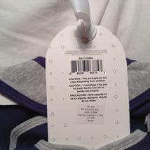 NEW Baby Aspen Blue/Tropical 2 Pc Baby Clothing Set w Set of 3 Blue Bibs Sz 0-6M image 8