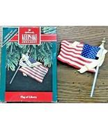 Hallmark Keepsake Ornament 1991 Flag of Liberty American Commemorative  ... - $7.91