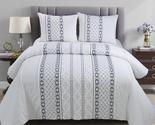 Donna Sharp Trellis Cotton 3pc Comforter Set - $160.00 - $176.00