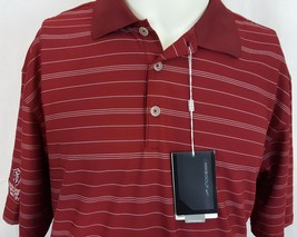 8f07cc47f Nike Golf Tech Core Striped Dri-FIT Men  39 s Red Polo Shirt