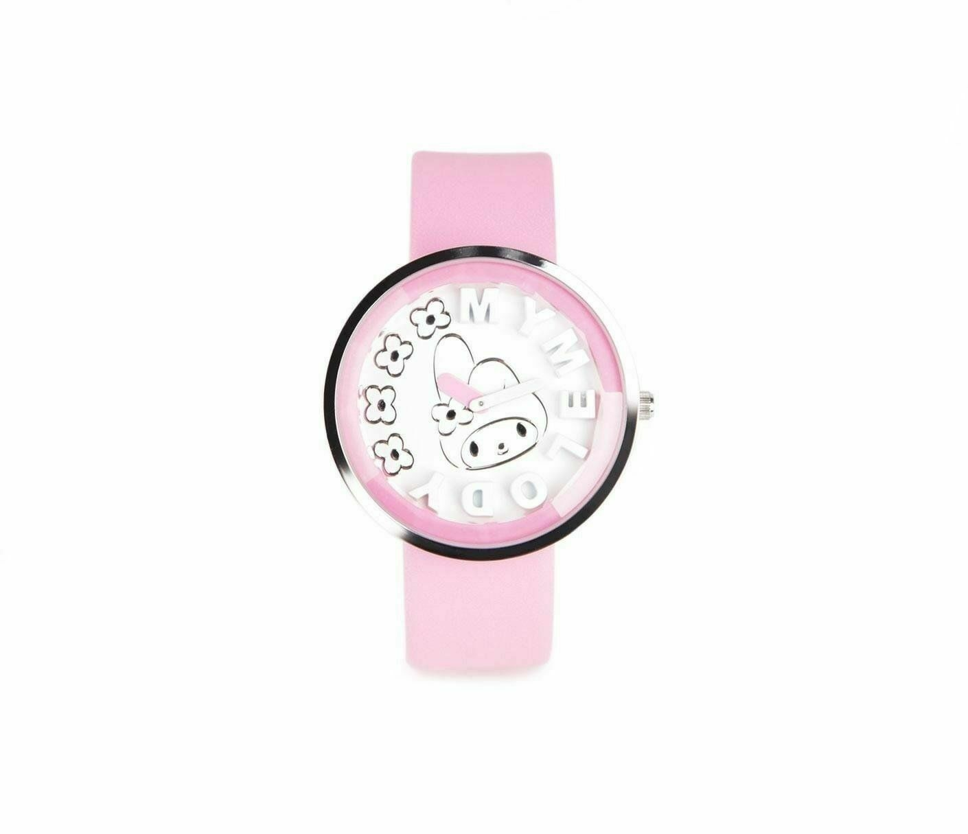 Authentic SANRIO My Melody Wrist watch: Minimal Relief NEW IN BOX - $37.99