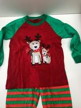 BabyHas Kids Reindeer Christmas Pajamas Size 5Y - $8.56