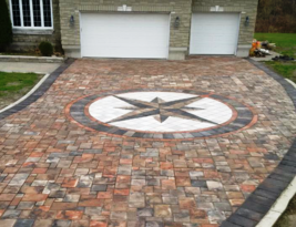 12 Driveway Paver Mold Set #P4006 Makes 100s Opus Romano 9 Sq.Ft. Pattern Pavers image 1