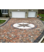 12 Driveway Paver Mold Set #P4006 Makes 100s Opus Romano 9 Sq.Ft. Patter... - $199.99