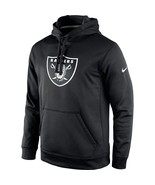 Oakland Raiders Nike Black Circuit Logo Essential Performance Pullover H... - $59.39