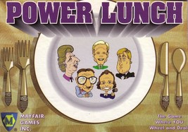 Power Lunch Game - NEW - Sealed - Mayfair Games   -=GAME SALE=- - $7.55