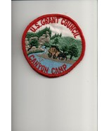 U.S. Grant Council Canyon Camp patch - $2.97
