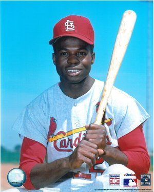 Lou Brock unsigned St. Louis Cardinals 8x10 Photo