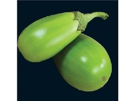 20 Vegetable Seeds - Apple Green Eggplant Green Fruit #SFB15 - $17.99