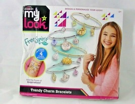 My Look Trendy Charms by Cra-Z-Art Charm Bracelet Making Kit - $9.67