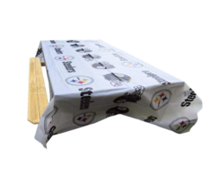Rico Pittsburgh Steelers 2-Pack Table Cover - 54 x 108 Inches - $15.92 CAD