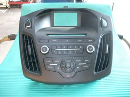 2015 FORD FOCUS RADIO CONTROL PANEL F1ET-18K811-LD image 1