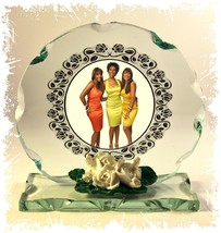 Pointer Sisters, Golden Oldies , Cut Glass Round Plaque, | Cellini Plaqu... - $35.28