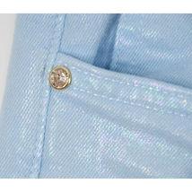 Juicy Couture Black Label Malibu Sky Iridescent Stretch Skinny Jeans 30 NWT image 5