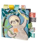 Taggies Touch & Feel Soft Cloth Book with Crinkle Paper & Squeaker, Mola... - $20.95