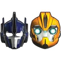 Transformers Prime Core Paper Masks Party Accessory 8 Per Pkg 2 Asst. Styles NEW - $4.90