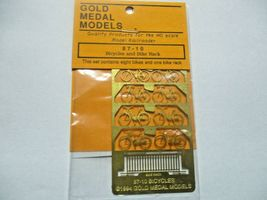 Gold Medal Models # 87-10 Bicycles and Bike Rack HO-Scale image 3