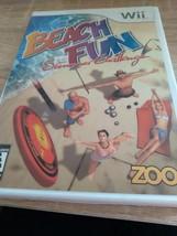 Nintendo Wii Beach Fun: Summer Challenge image 1