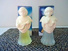 "Vintage Avon "" IOB "" Set Of 2 Angel Song,1, Mandolin,1,Lyre "" GREAT COLL... - $19.99"