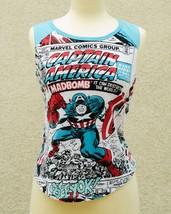 Captain AmericaT-Shirt Marvel Comics Women's Adult T-Shirt Size Large - £8.50 GBP